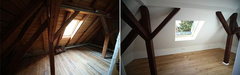 Dachgeschoss in Wien ausbauen